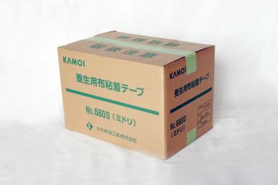 No.6800 布粘着テープ(緑)(25m)